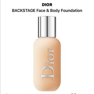 100% full, unused Dior Backstage Foundation in W2